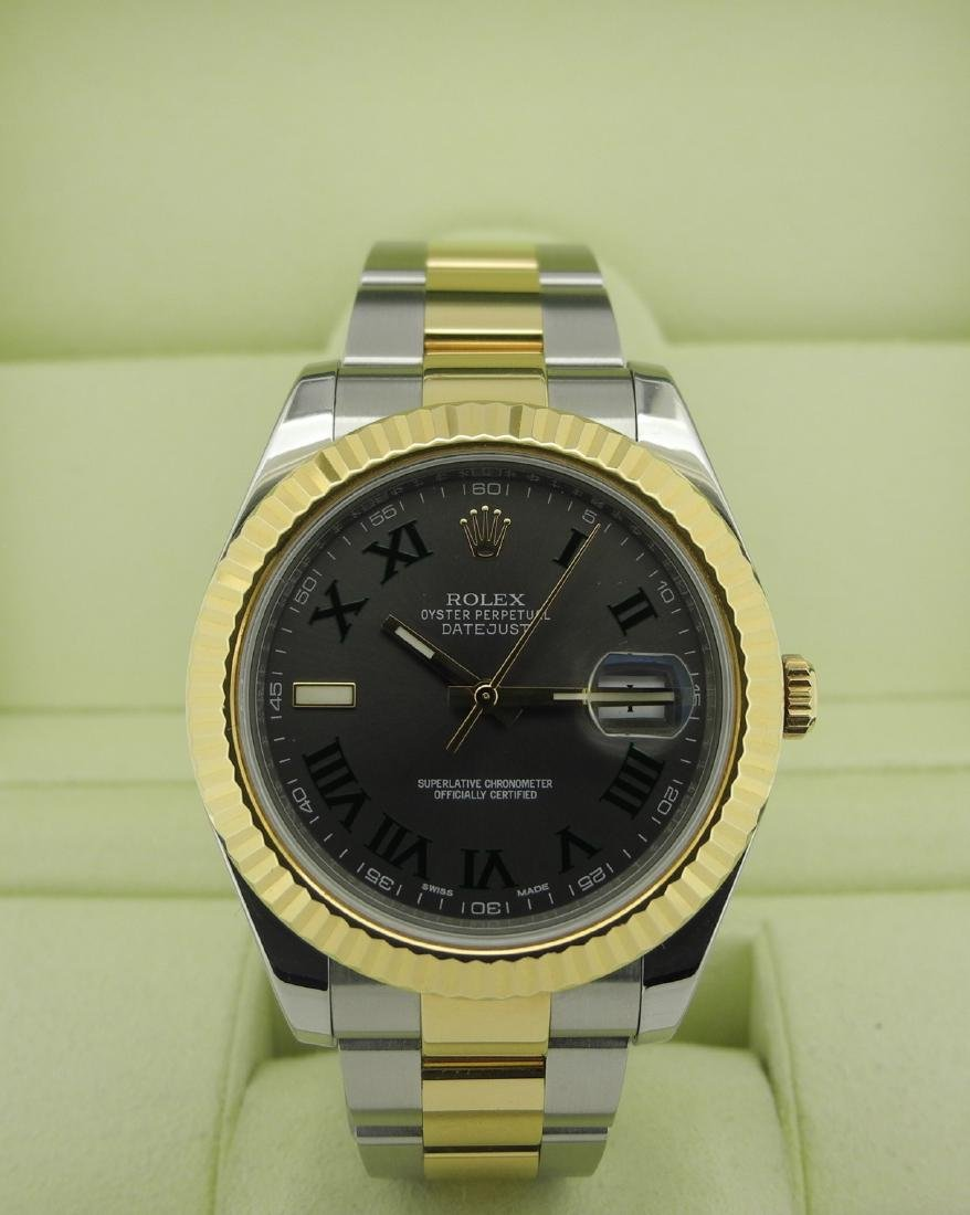 Rolex Datejust 116333 Two-Tone with Roman Numeral Dial - 2