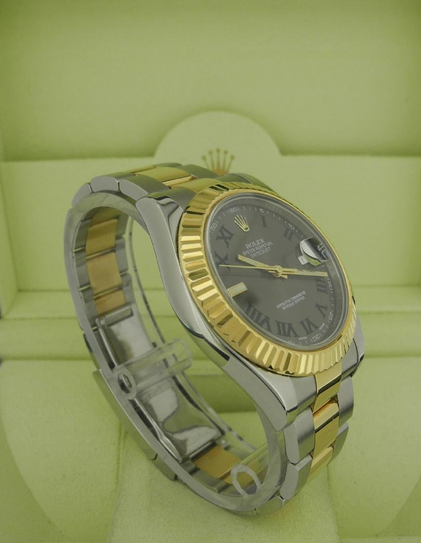 Rolex Datejust 116333 Two-Tone with Roman Numeral Dial - 4