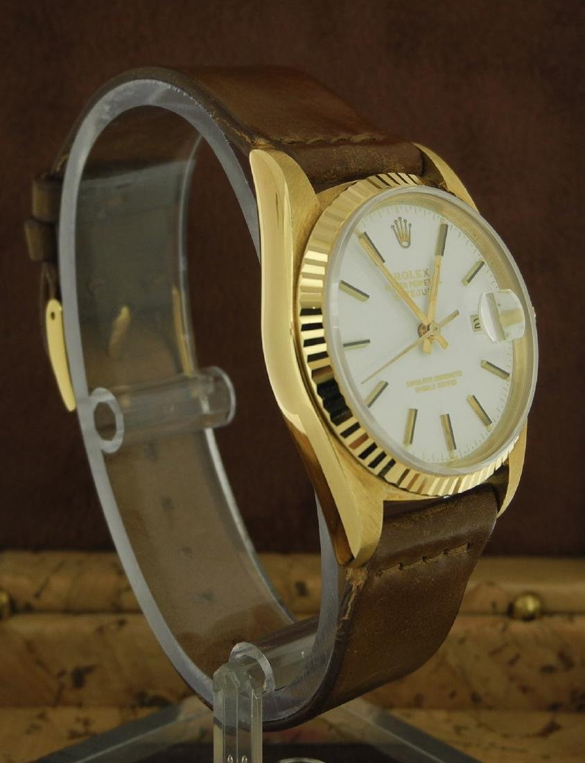 Rolex Datejust 16018 with White Porcelain Dial - 4