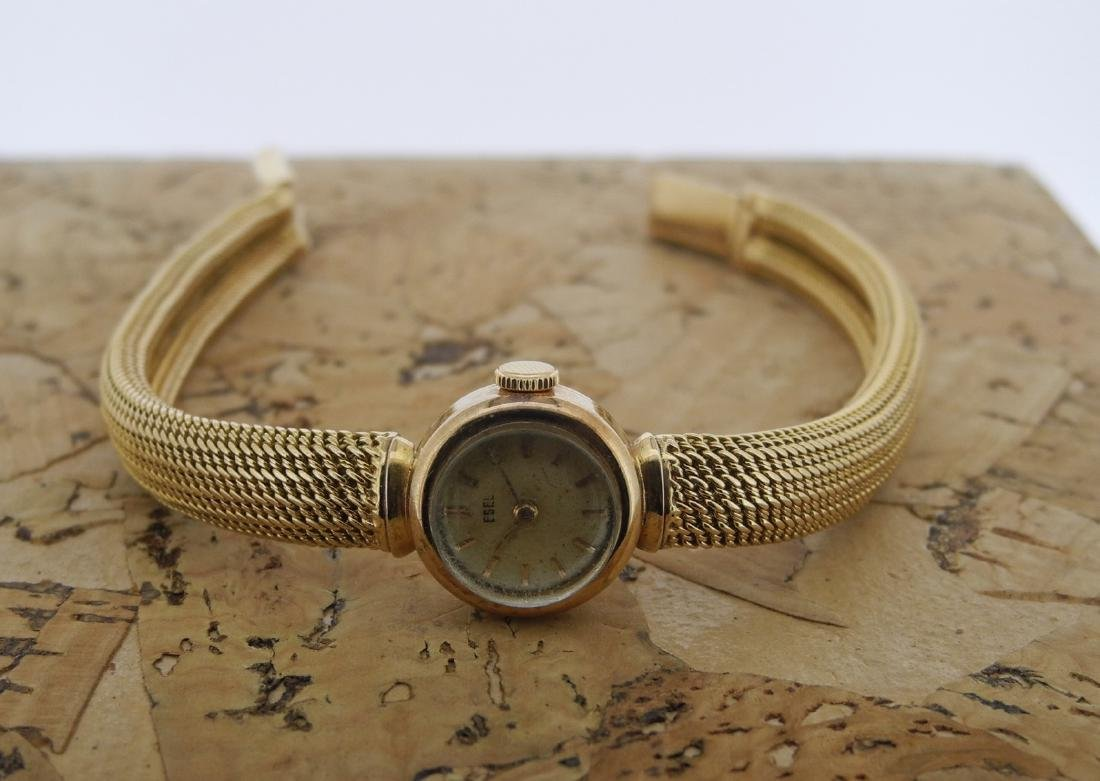 Ebel Lady Bracelet Watch in Yellow Gold