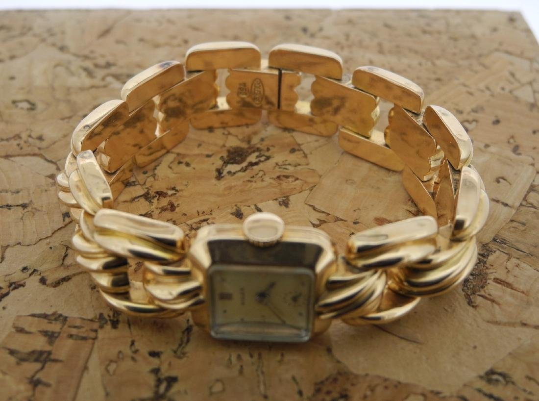 Rolex Small Seconds Bracelet Watch in 18K Yellow Gold - 10