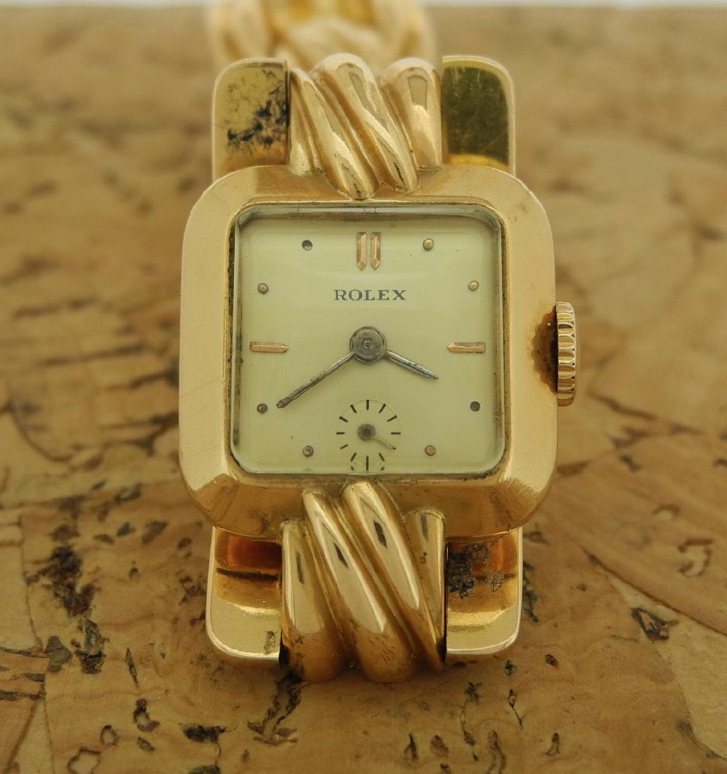 Rolex Small Seconds Bracelet Watch in 18K Yellow Gold - 2
