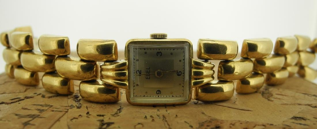 Ebel Lady Bracelet Watch in 18K Yellow Gold