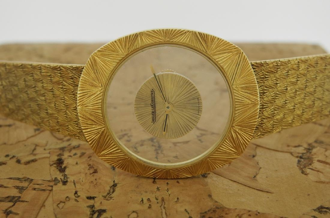 Jaeger LeCoultre Mystery in Yellow Gold Bark Finishing