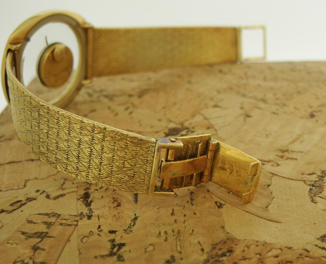 Jaeger LeCoultre Mystery in Yellow Gold Bark Finishing - 5