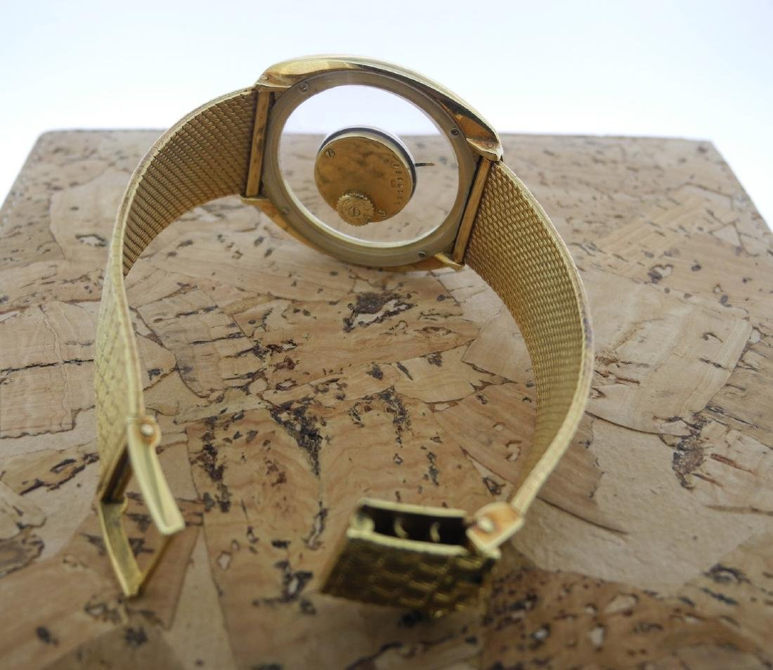 Jaeger LeCoultre Mystery in Yellow Gold Bark Finishing - 7