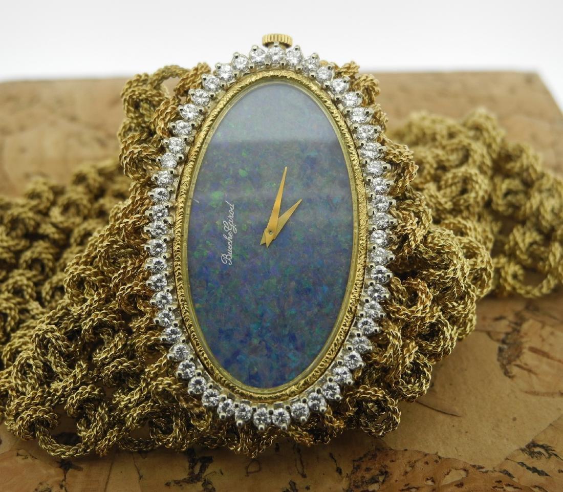 Bueche Girod Lady Mesh Bracelet & Opaline Diamond Watch - 2