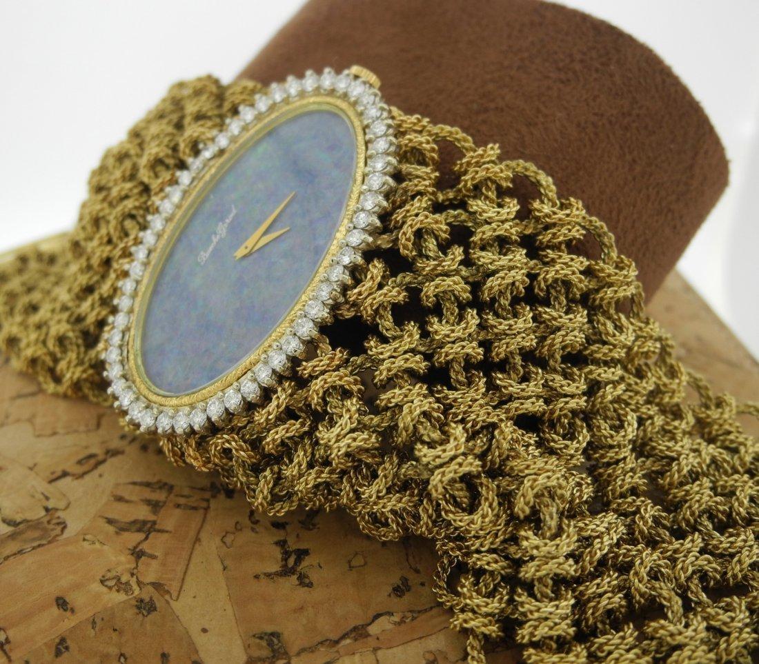 Bueche Girod Lady Mesh Bracelet & Opaline Diamond Watch - 3