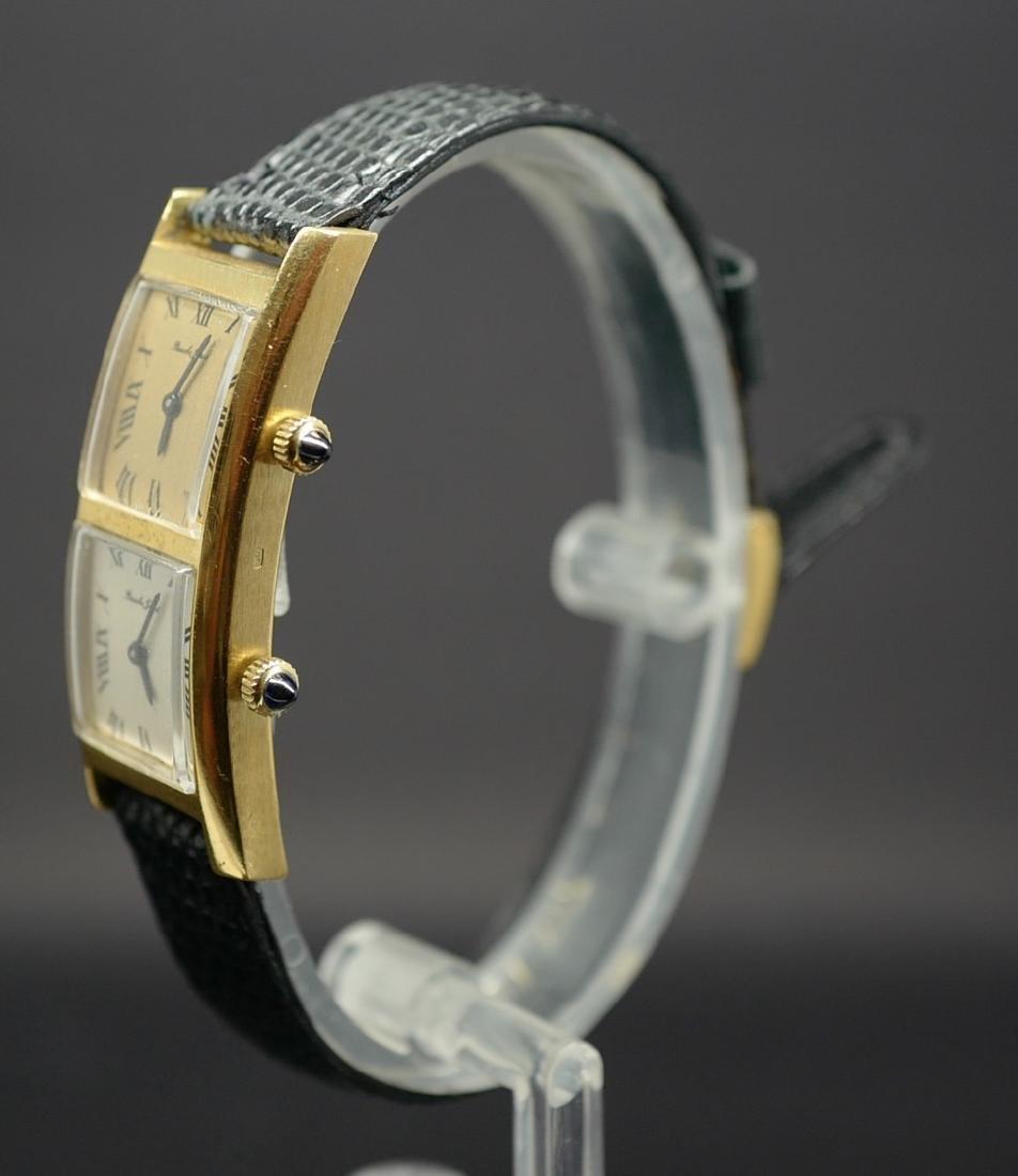 Bueche Girod Dual Time Watch in 18K Yellow Gold - 10