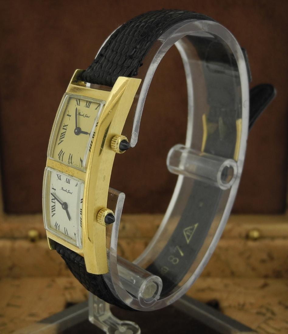 Bueche Girod Dual Time Watch in 18K Yellow Gold - 2