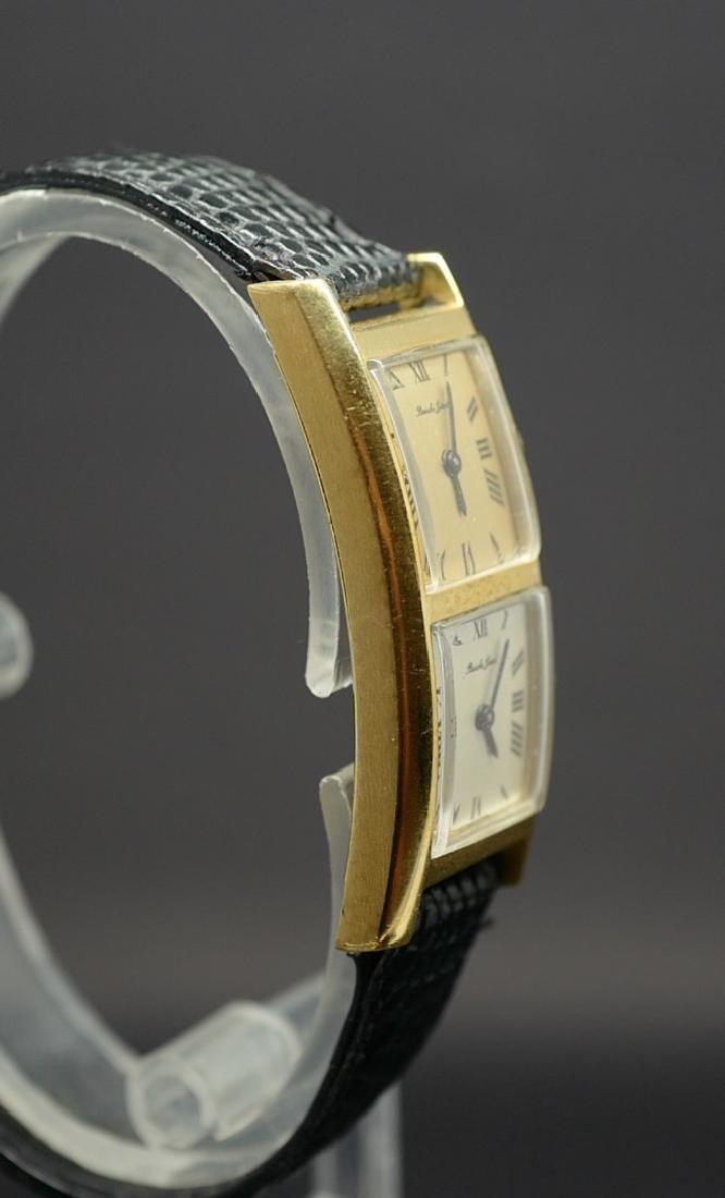 Bueche Girod Dual Time Watch in 18K Yellow Gold - 8