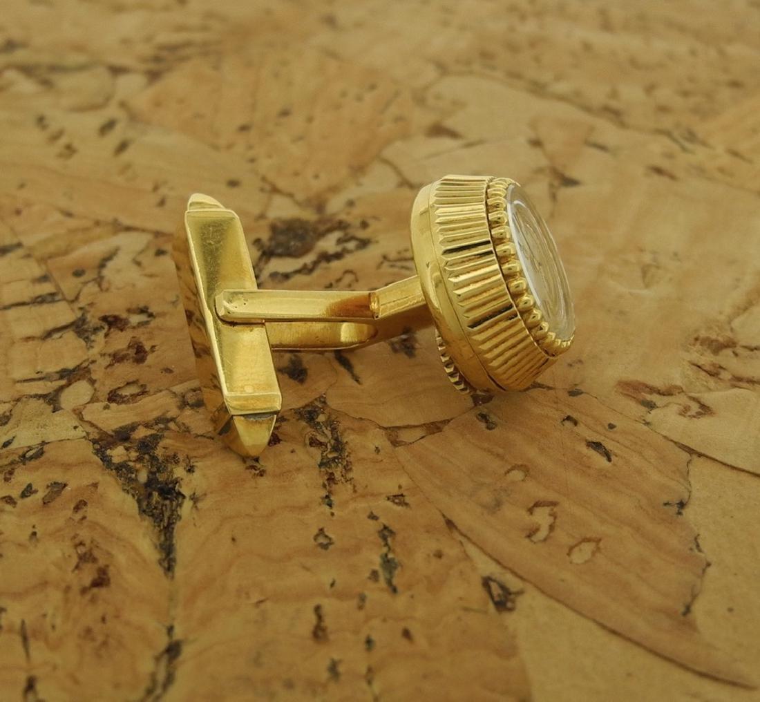 Omega Cufflinks in 18K Yellow Gold - 3