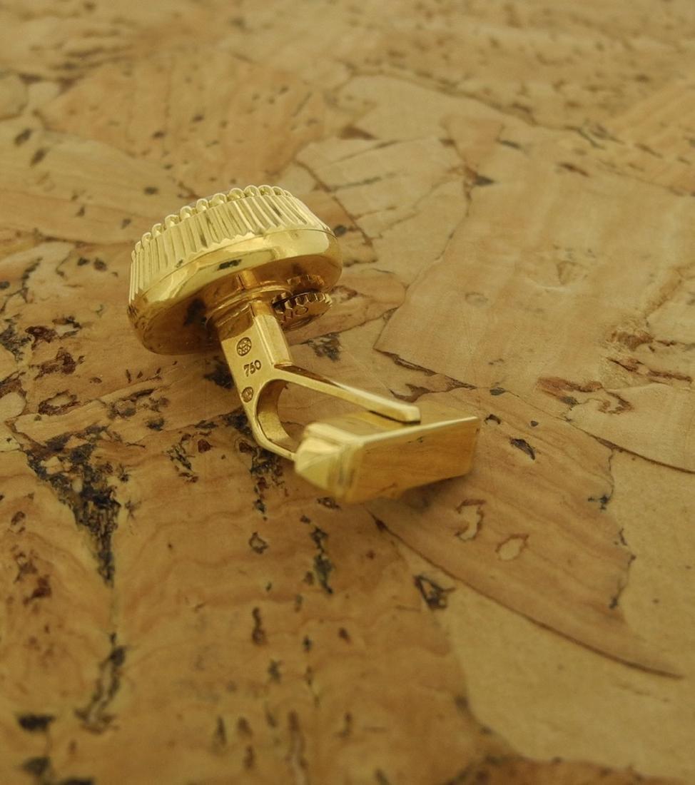 Omega Cufflinks in 18K Yellow Gold - 4