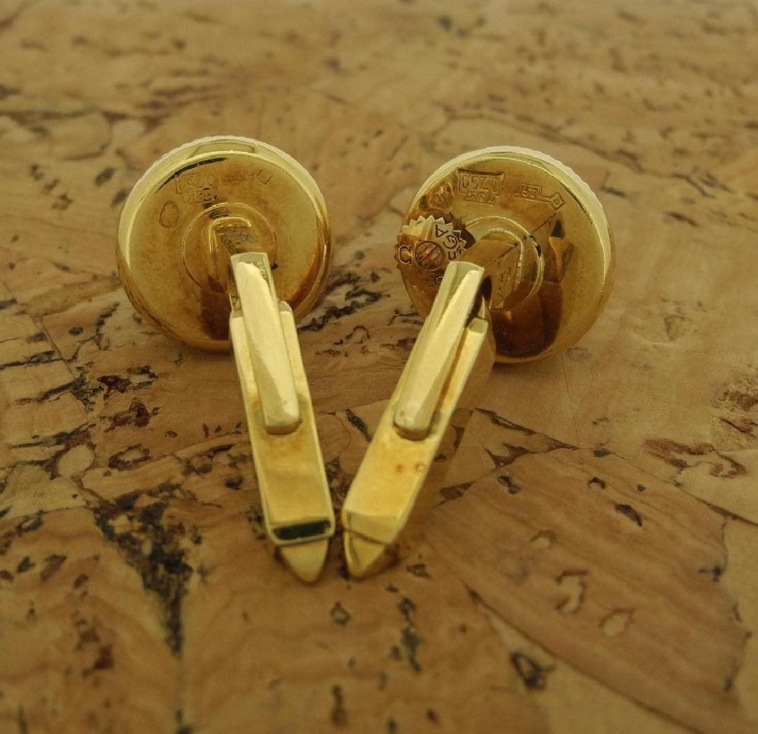 Omega Cufflinks in 18K Yellow Gold - 5