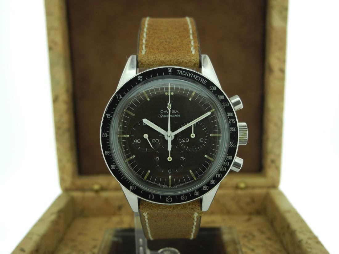 Omega Speedmaster 105.003 with Brown Dial on Strap