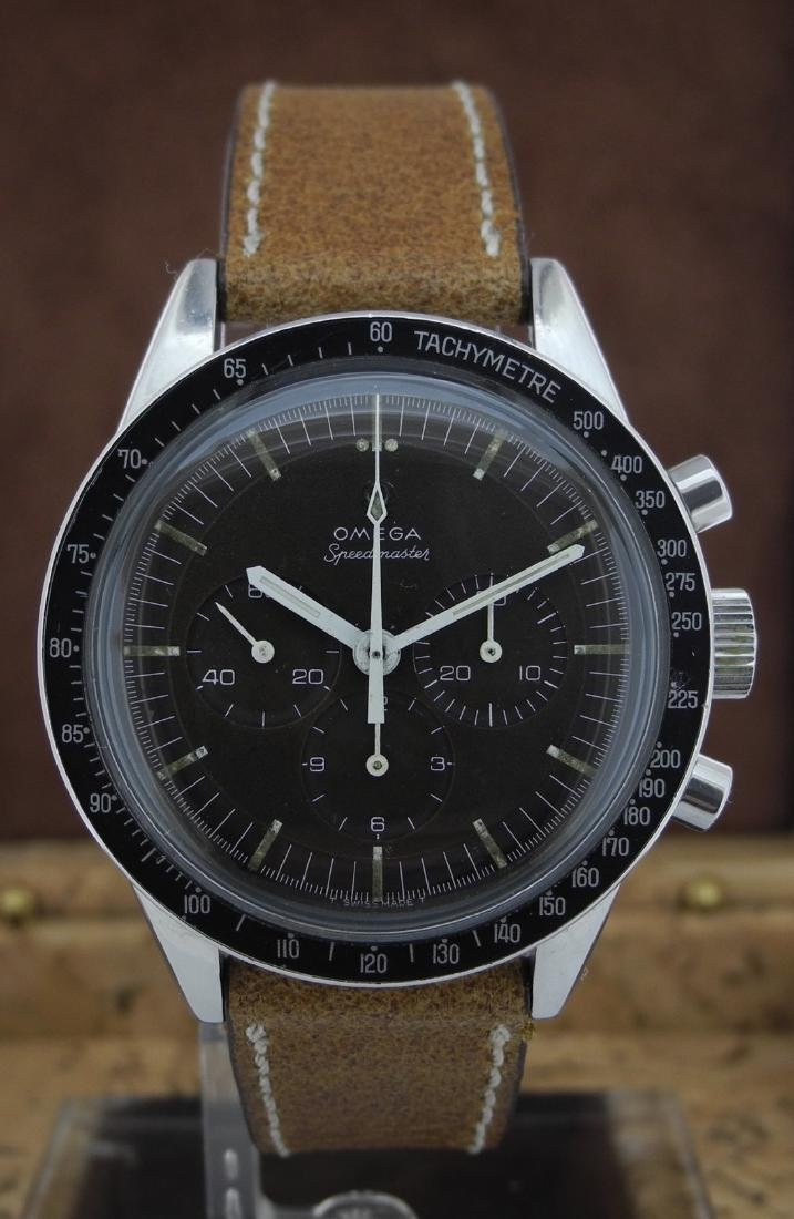 Omega Speedmaster 105.003 with Brown Dial on Strap - 2