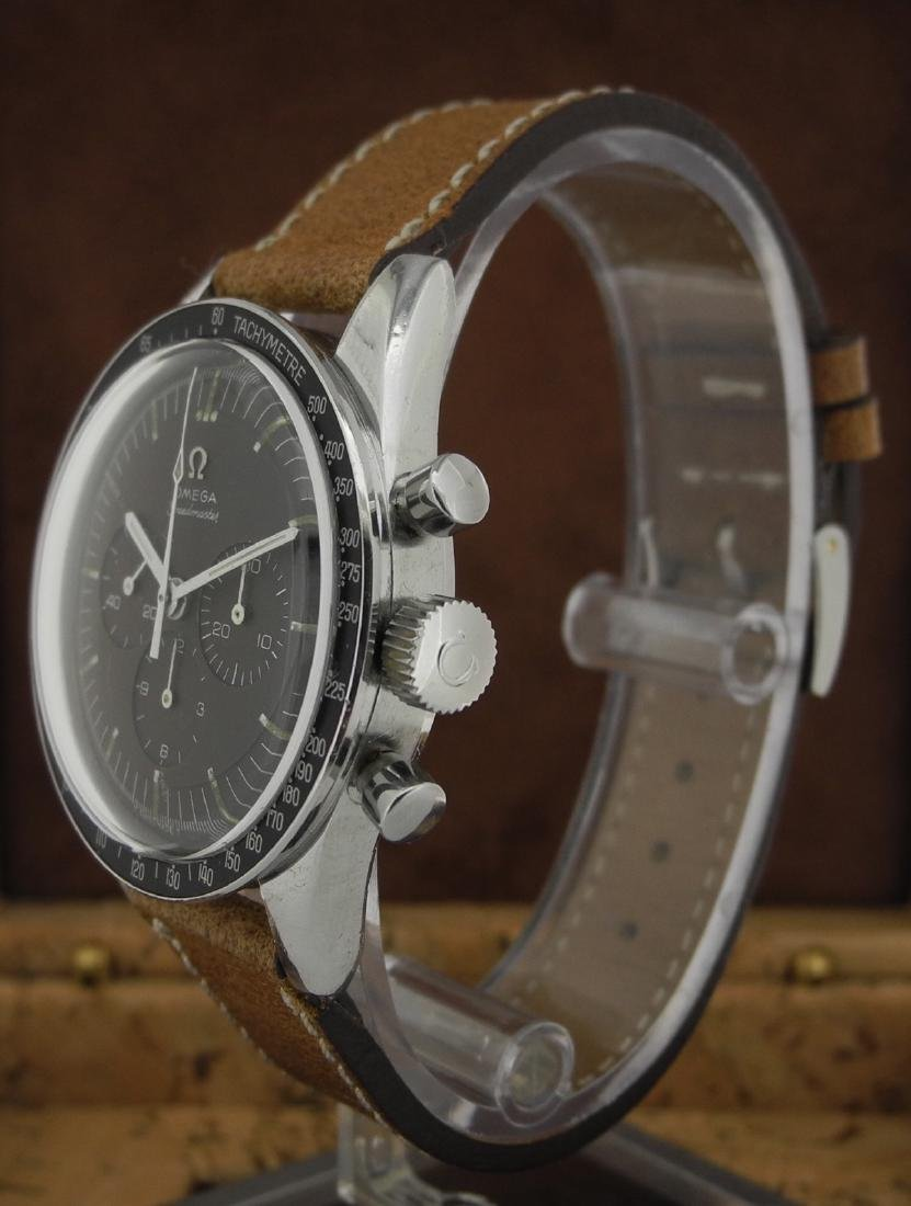 Omega Speedmaster 105.003 with Brown Dial on Strap - 3