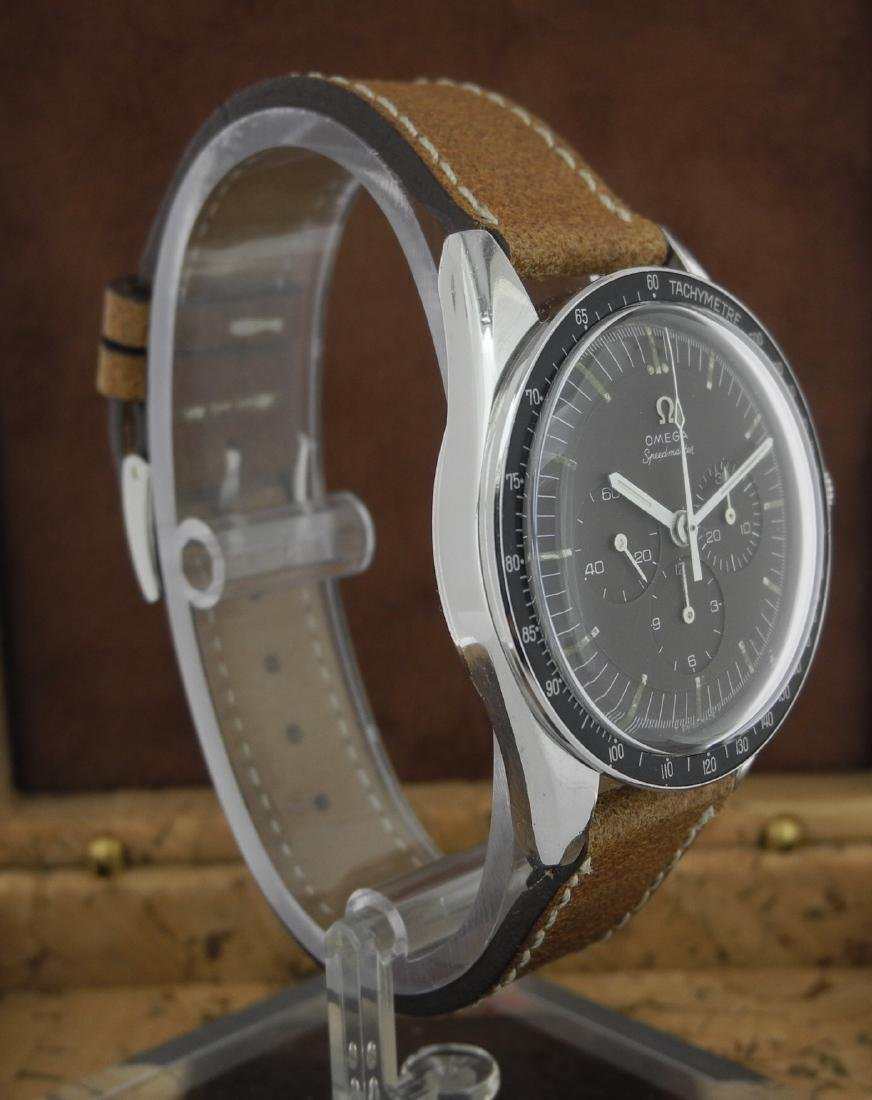 Omega Speedmaster 105.003 with Brown Dial on Strap - 4