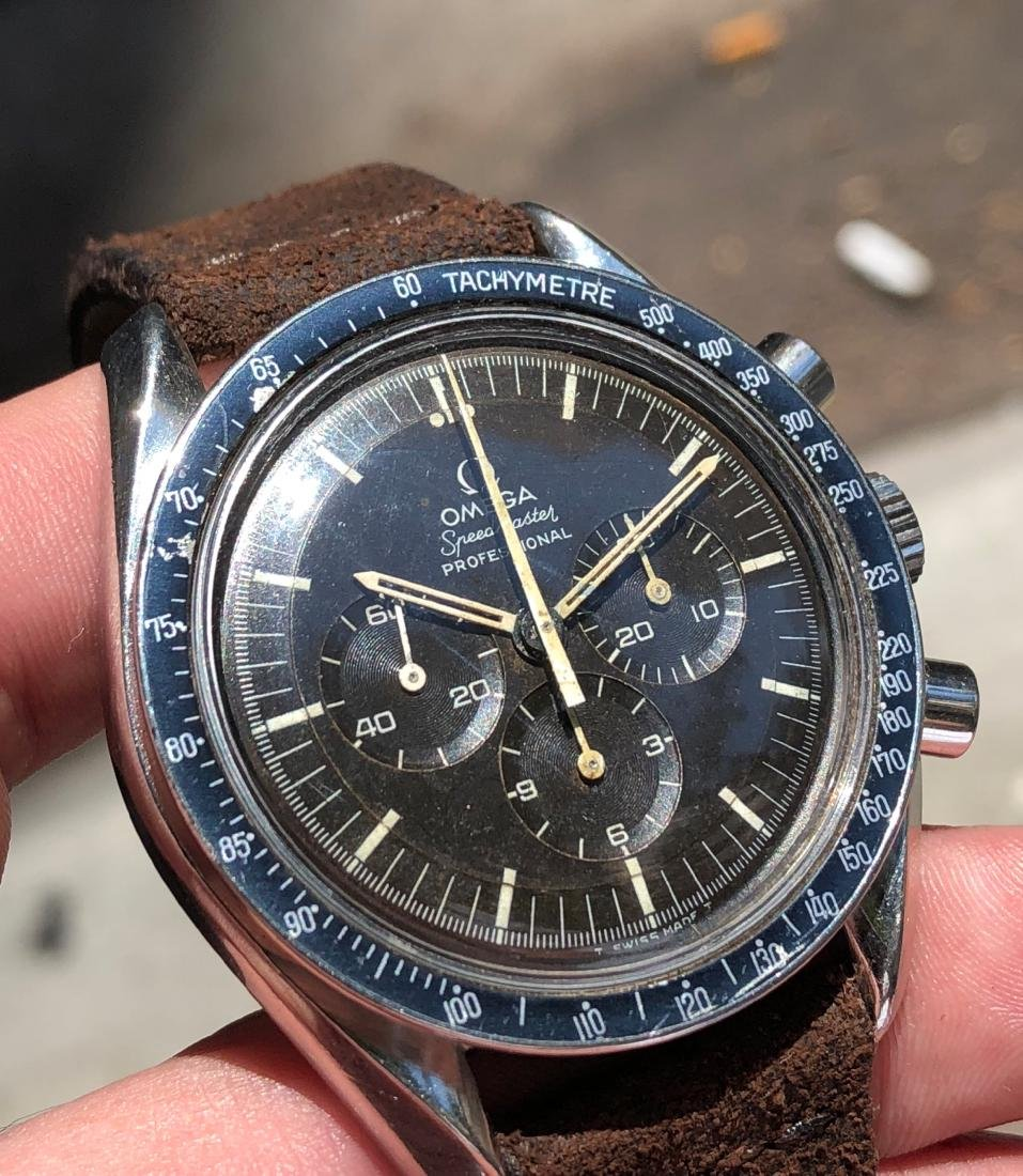 Omega Speedmaster Professional 145.022 with Brown Dial - 10