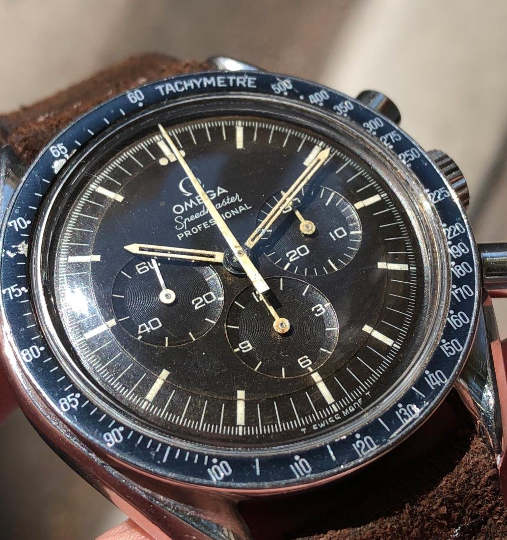 Omega Speedmaster Professional 145.022 with Brown Dial - 8