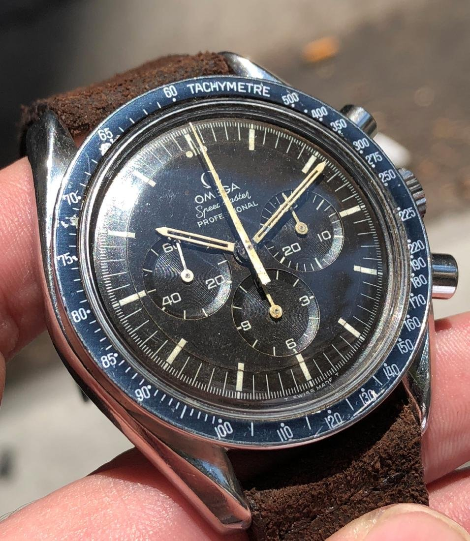 Omega Speedmaster Professional 145.022 with Brown Dial - 9