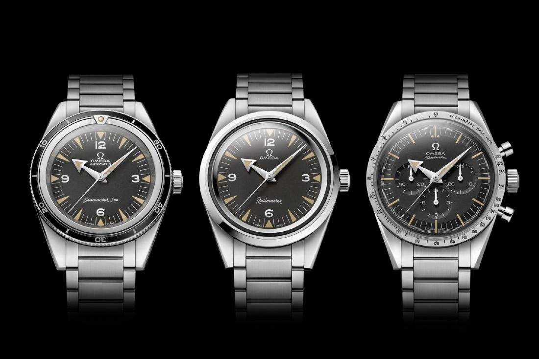 The Omega 1957 Trilogy Limited Edition Complete Set