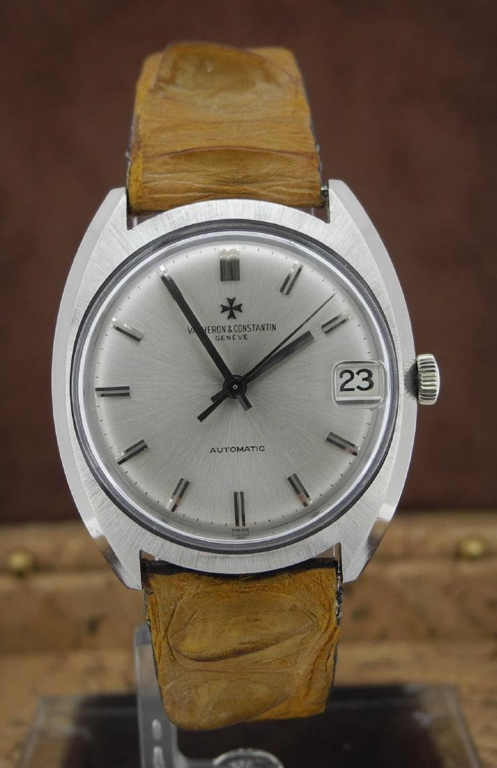 Vacheron & Constantin in White Gold on Leather Strap