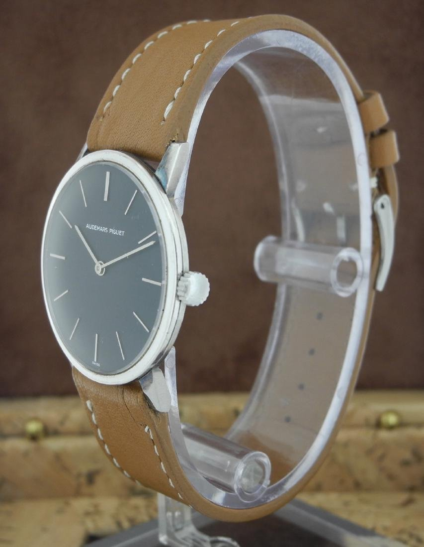 Audemars Piguet Only Time Automatic on Leather Strap - 2