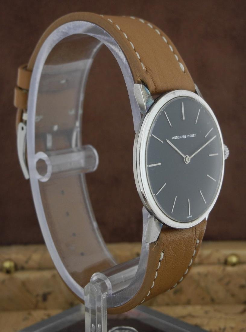 Audemars Piguet Only Time Automatic on Leather Strap - 3