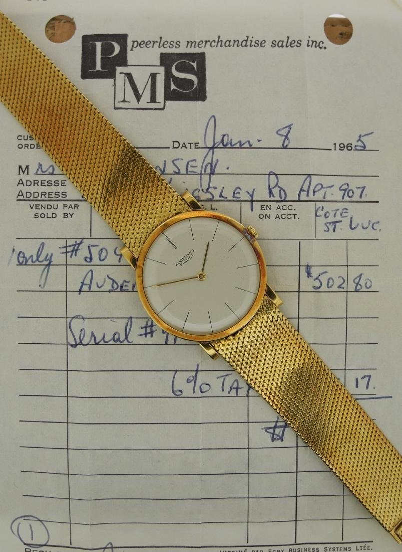 Audemars Piguet Only Time in Yellow Gold with Papers