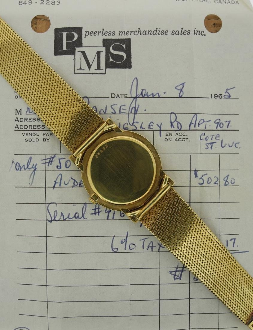 Audemars Piguet Only Time in Yellow Gold with Papers - 2