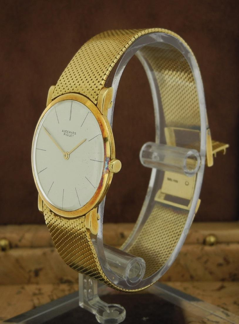 Audemars Piguet Only Time in Yellow Gold with Papers - 4