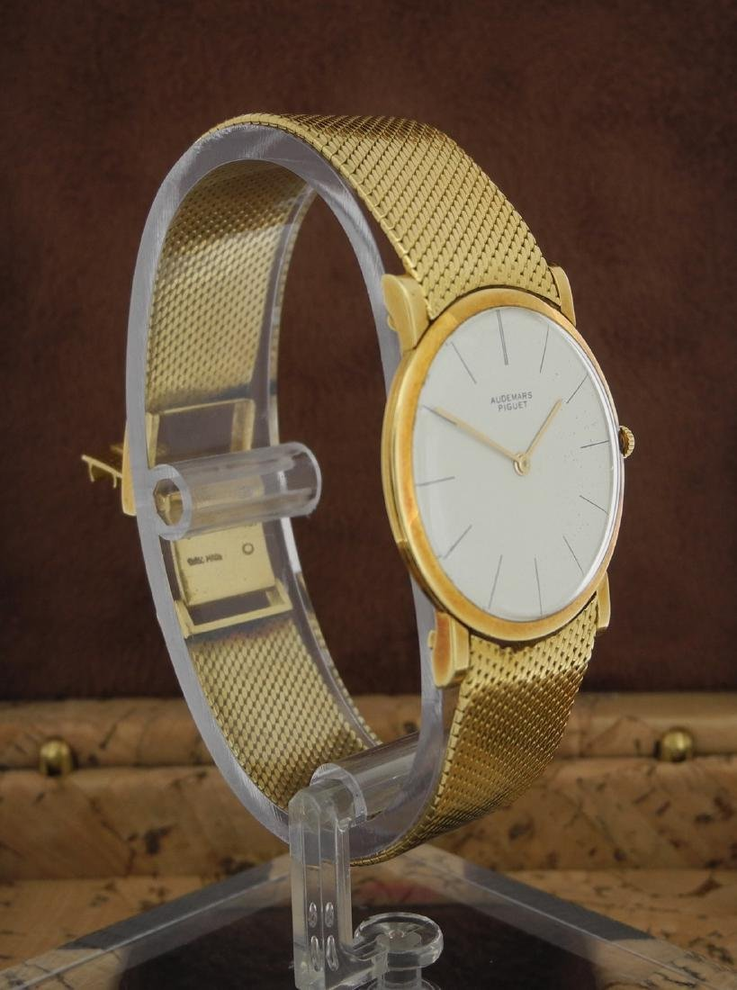 Audemars Piguet Only Time in Yellow Gold with Papers - 5