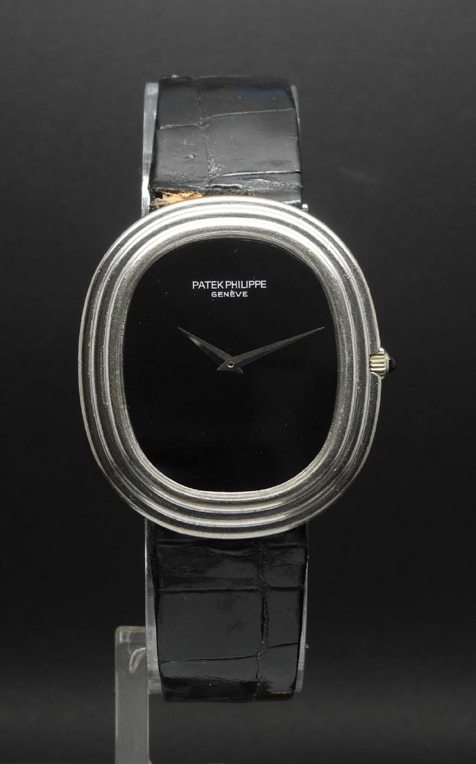 Patek Philippe Ellipse 3634 in White Gold & Onyx Dial