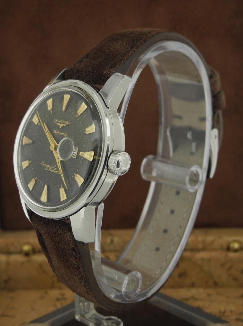 Longines  Conquest Automatic in Steel on Leather Strap - 2