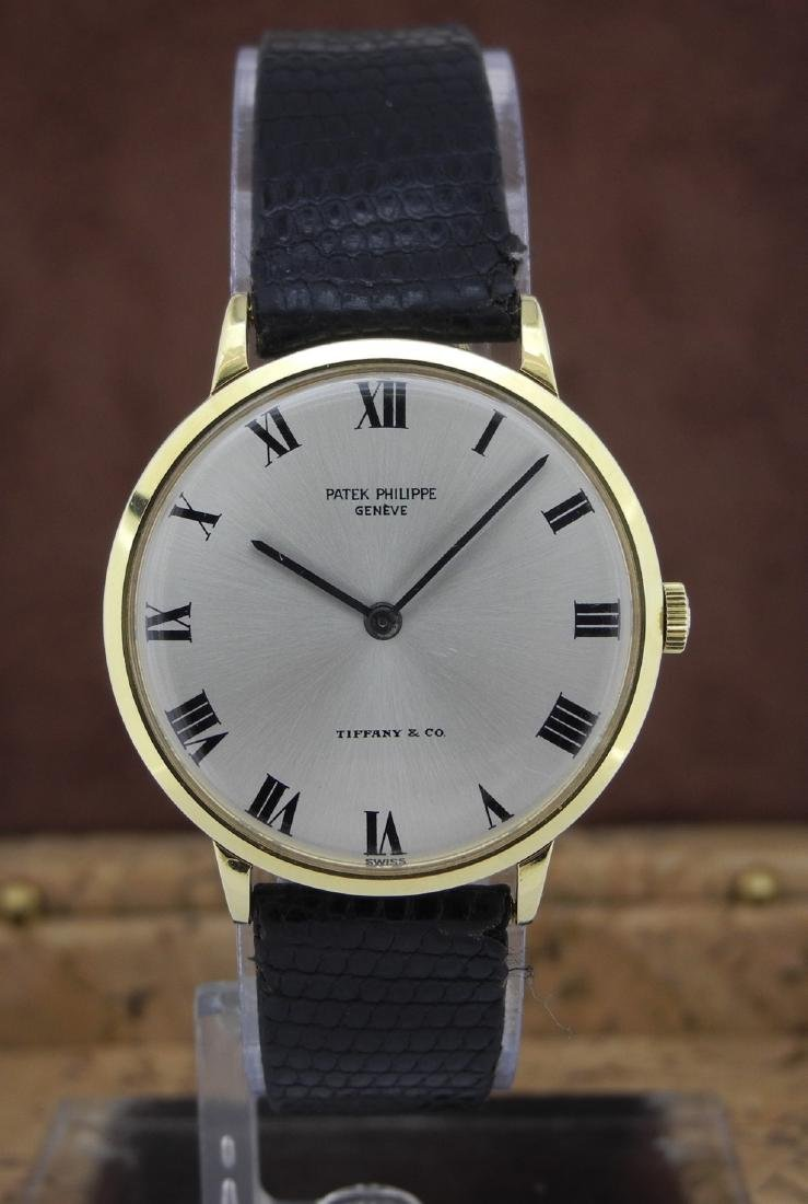 Patek Philippe Only Time with Tiffany & Co Dial