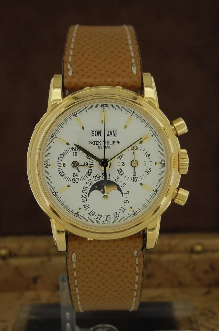 Patek Philippe 3970 Perpetual Chronograph with Extract