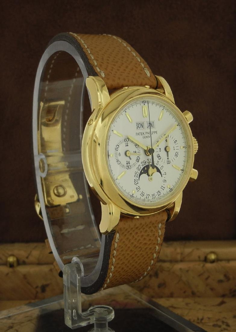 Patek Philippe 3970 Perpetual Chronograph with Extract - 3