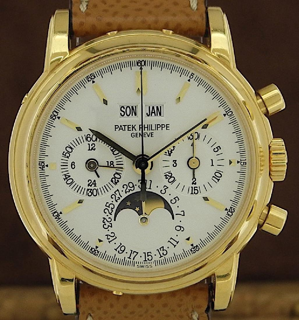 Patek Philippe 3970 Perpetual Chronograph with Extract - 7