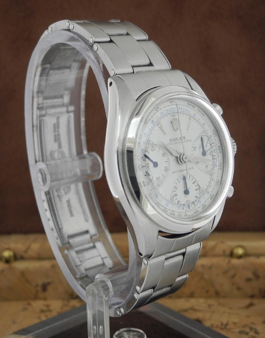Rolex Chronograph 6234 Manual on Steel Bracelet - 3