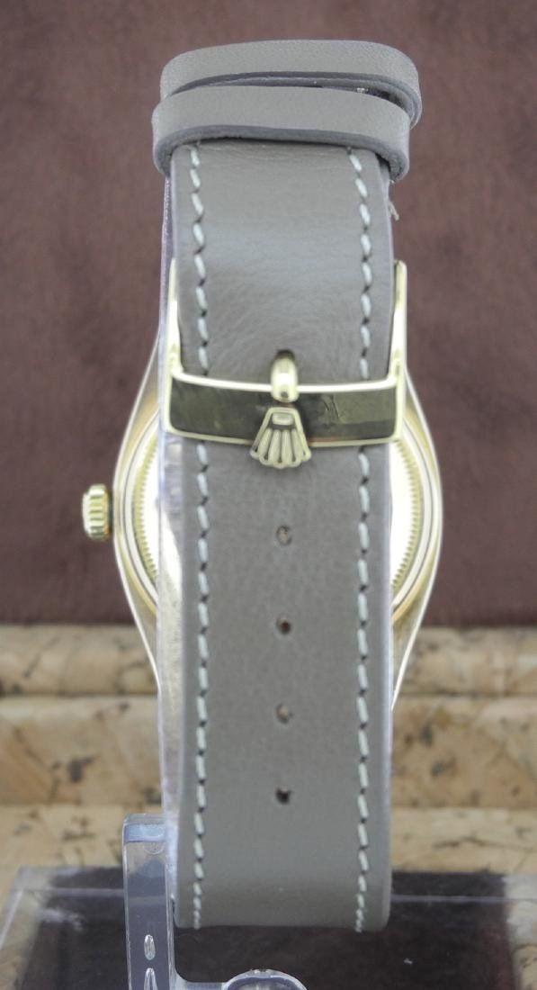 Rolex Day-Date 6611 in Pink Gold on Leather Strap - 4