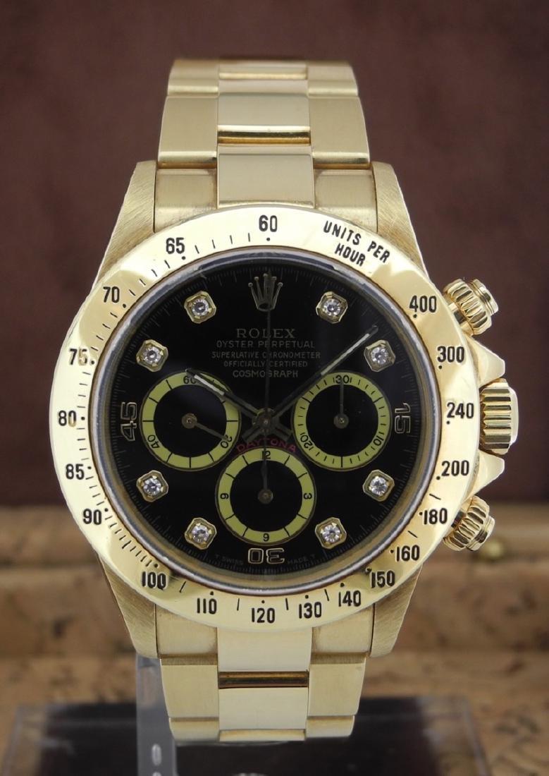 low priced 499e4 02093 Rolex Daytona 16528 Zenith & Diamond Index Dial