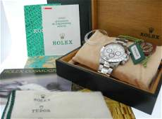 Rolex Daytona 16520 Zenith Automatic with Box & Papers
