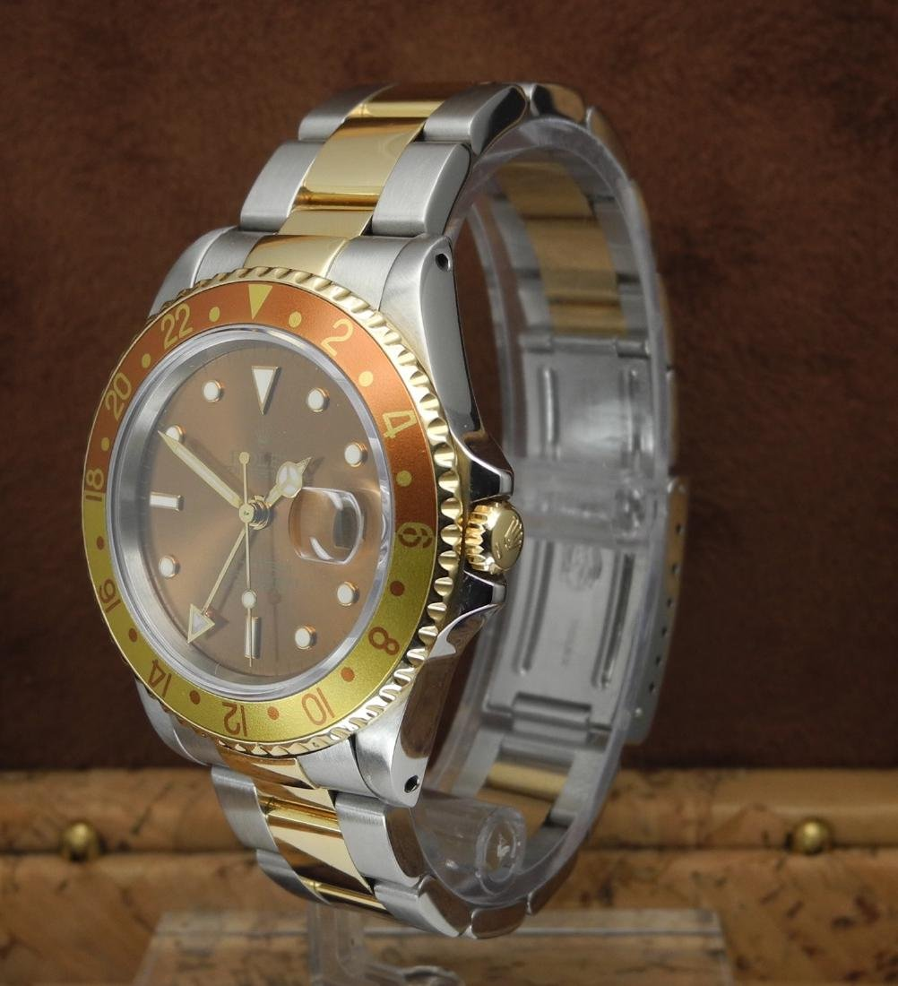 Rolex GMT-Master II 16713 Rootbeer in Two Tone Case - 2