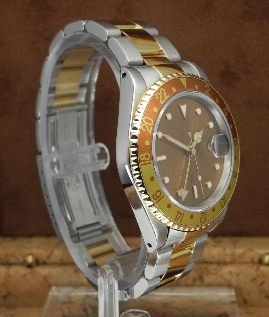 Rolex GMT-Master II 16713 Rootbeer in Two Tone Case - 3