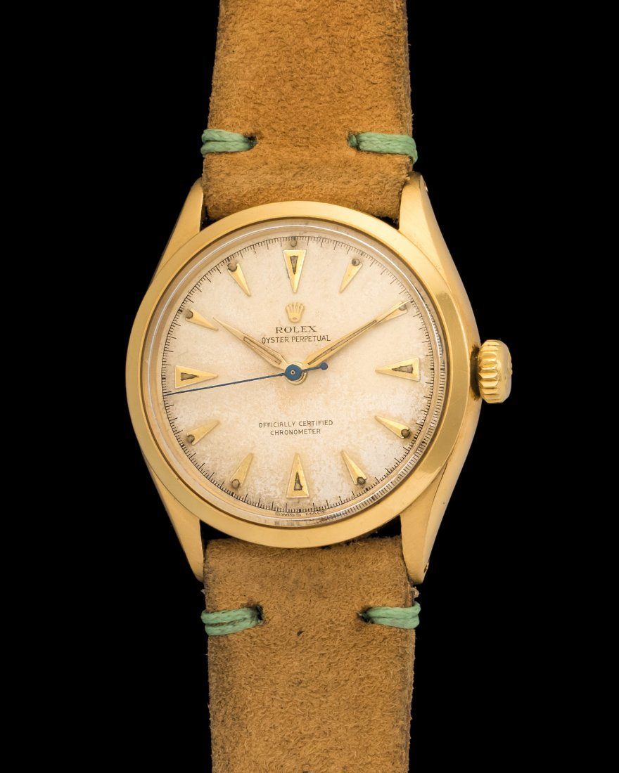 Rolex Oyster 6284 in 18k Gold Case & Leather Strap