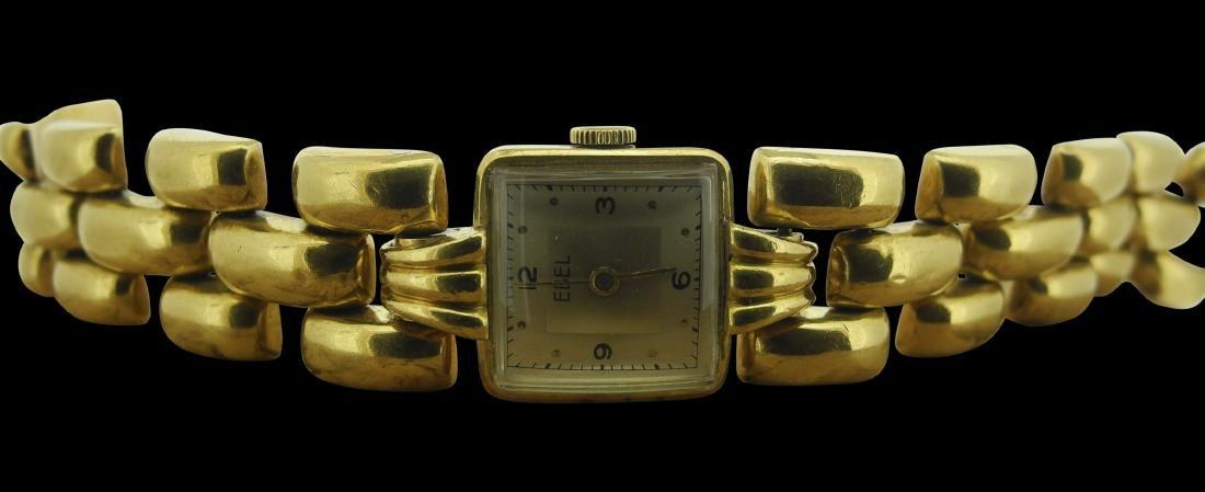 Ebel Ladies Bracelet in Yellow Gold