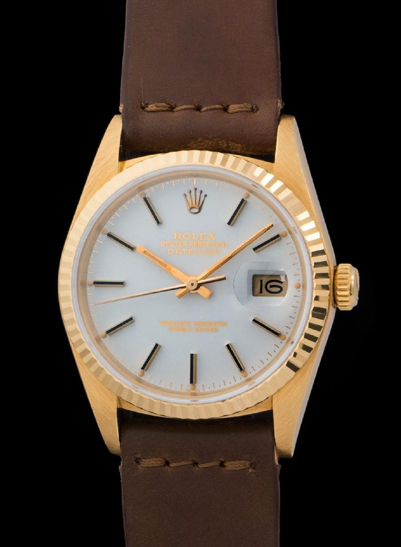 Rolex Datejust 16018 with White Porcelain Dial