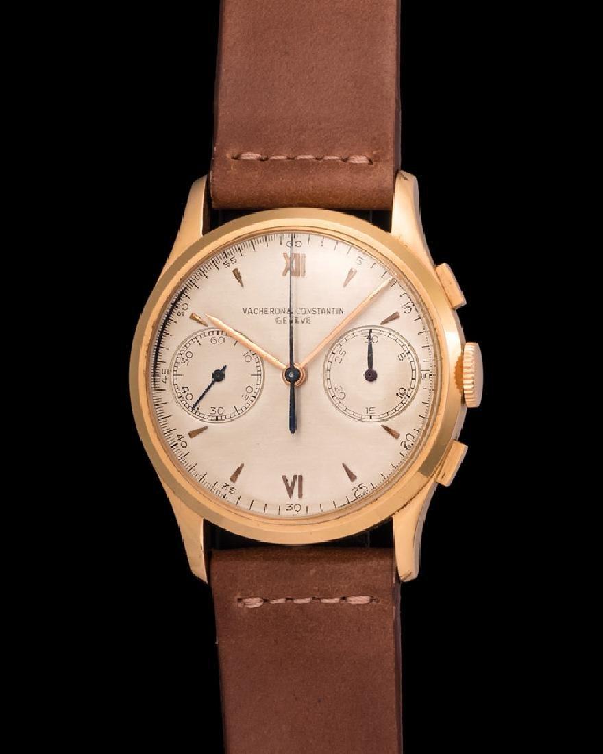 Vacheron & Constantin Manual Chronograph in Pink Gold