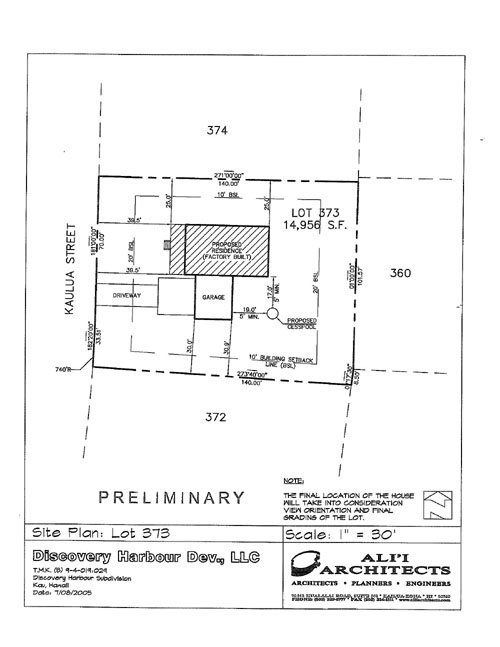 373: New Hawaii Home, Discovery Harbour, Lot 373 - 3